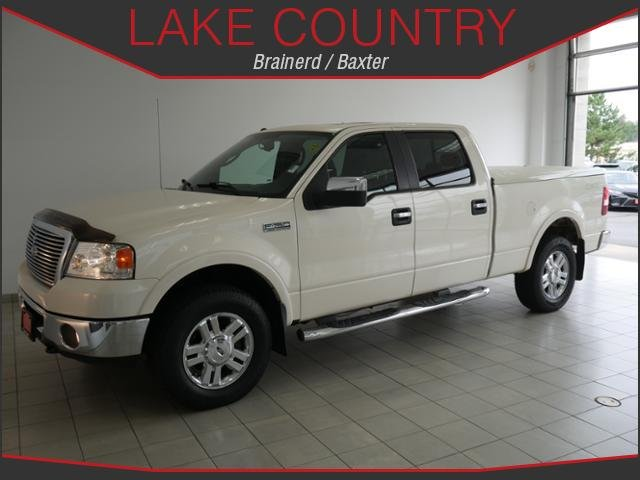 Pre-Owned 2008 Ford F-150 LARIAT HEATED LEATHER MOONROOF CHROME WHEELS