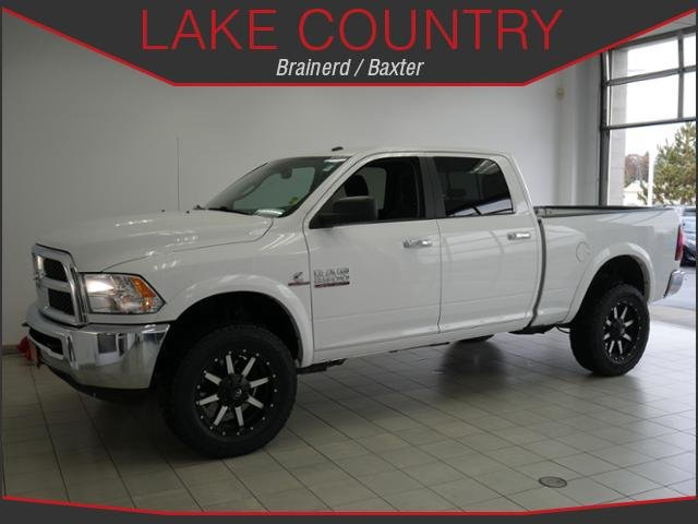 Pre Owned 2015 Ram 2500 Slt Crew Cab Cummins Diesel 4x4 Black Wheels