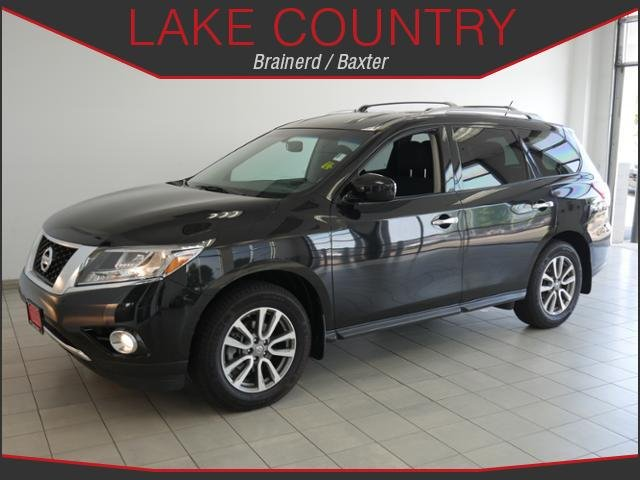 Certified Pre-Owned 2016 Nissan Pathfinder SV BACKUP CAMERA 3RD ROW SEATING BLUETOOTH 1 OWNER