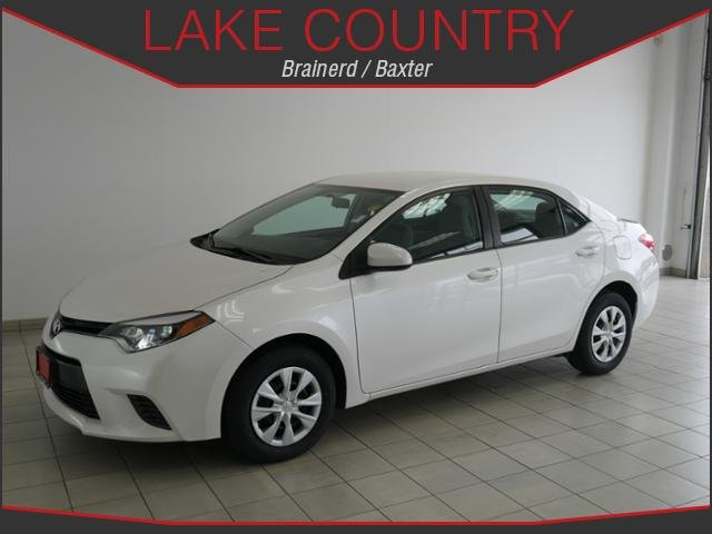 Pre-Owned 2015 Toyota Corolla LE Backup Camera Bluetooth Aux Input Automatic