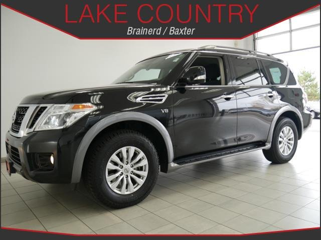 Pre-Owned 2017 Nissan Armada SV Navigation Heated Seats Power Liftgate Tow Pack