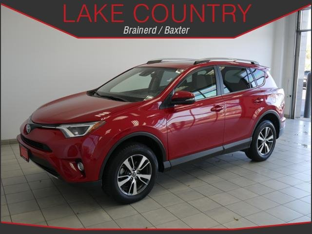 pre owned 2017 toyota rav4 xle awd moonroof backup camera usb input sport utility in baxter. Black Bedroom Furniture Sets. Home Design Ideas