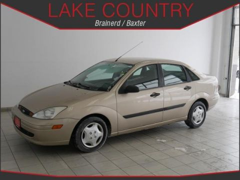 Pre-Owned 2002 Ford Focus LX Automatic Ultra Low Miles