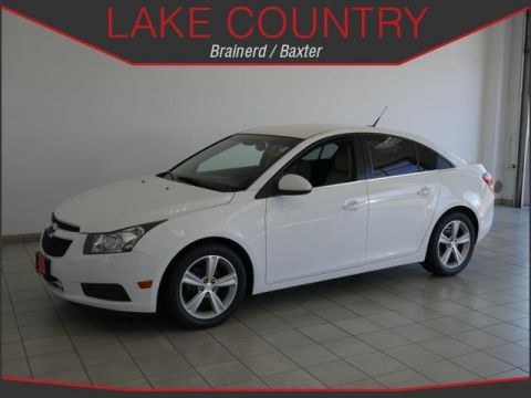 Pre-Owned 2014 Chevrolet Cruze 2LT LEATHER ALLOY WHEELS AUTOSTART