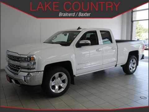 Pre-Owned 2016 Chevrolet Silverado 1500 LTZ HEATED LEATHER BACKUP CAMERA APPLE CARPLAY