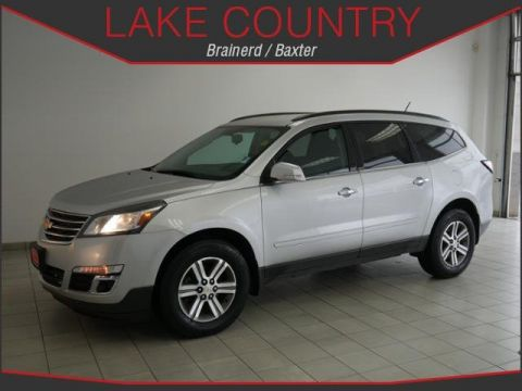 Pre-Owned 2015 Chevrolet Traverse LT Autostart AWD