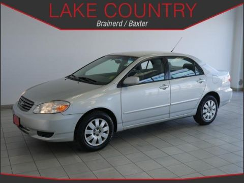 Pre-Owned 2003 Toyota Corolla LE Automatic Full Power Equipment Very Clean