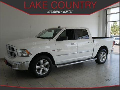Pre-Owned 2016 Ram 1500 SLT BIG HORN HEATED SEATS HEATED WHEEL