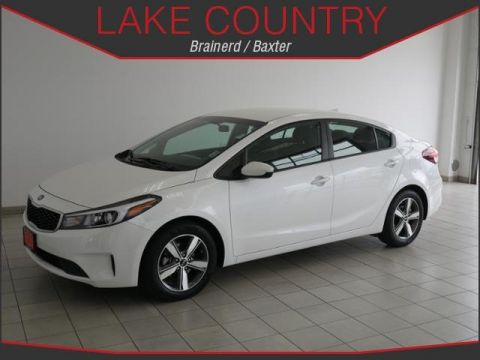 Pre-Owned 2018 Kia Forte LX Alloy Wheels Backup Camera Android Auto Apple