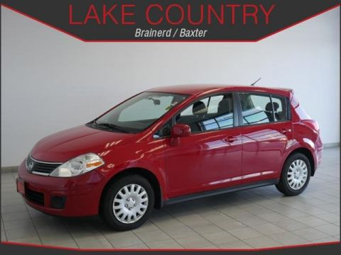 Pre-Owned 2009 Nissan Versa 1.8 S Hatchback Automatic Full Power Equipment