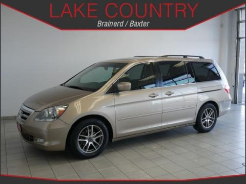 Pre-Owned 2005 Honda Odyssey Touring Moonroof Leather Dual Power Doors Alloys