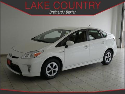 Pre-Owned 2013 Toyota Prius Two Blizzard Pearl