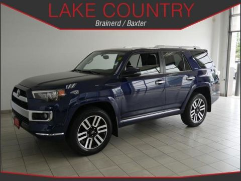 Pre-Owned 2018 Toyota 4Runner LIMITED NAVIGATION HEATED LEATHER ONE OWNER