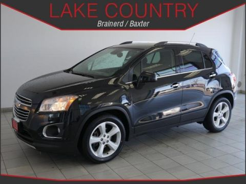 Pre-Owned 2016 Chevrolet Trax LTZ Leather Heated Seats Backup Camera