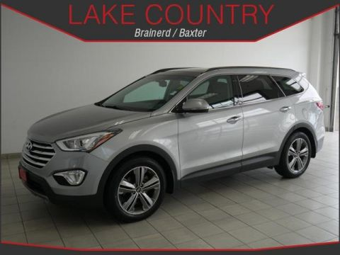 Pre-Owned 2014 Hyundai Santa Fe LIMITED ULTIMATE HEATED AND COOLED LEATHER MOON